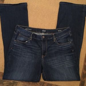 Ana Bootcut Jeans 33/16